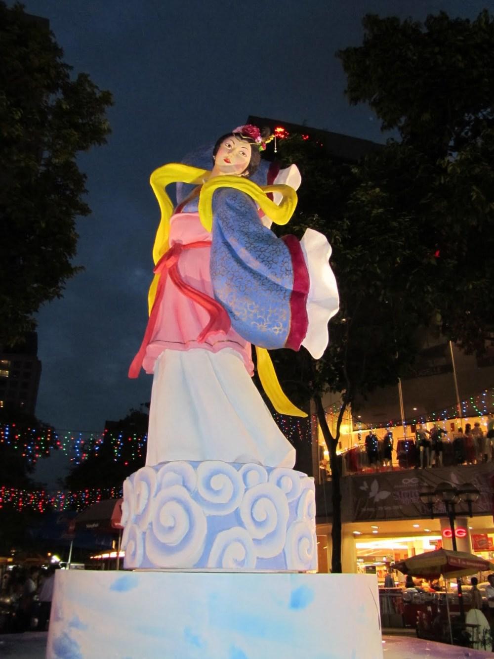 Mid-Autumn/Moon cake/Lantern festival
