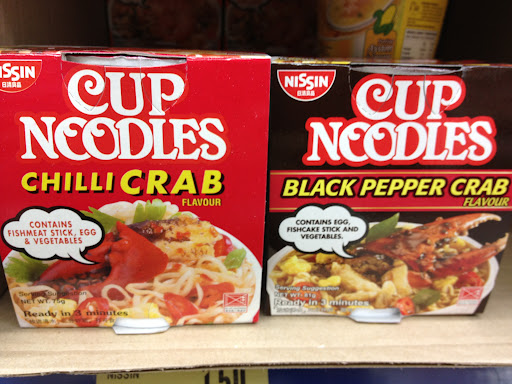 Singapore style Cup Noodles