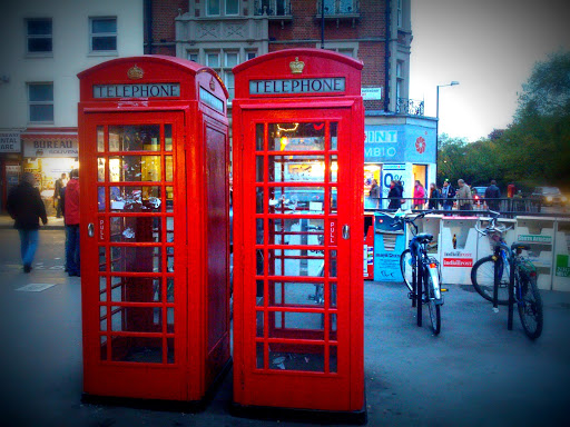These phone booths really are everywhere!