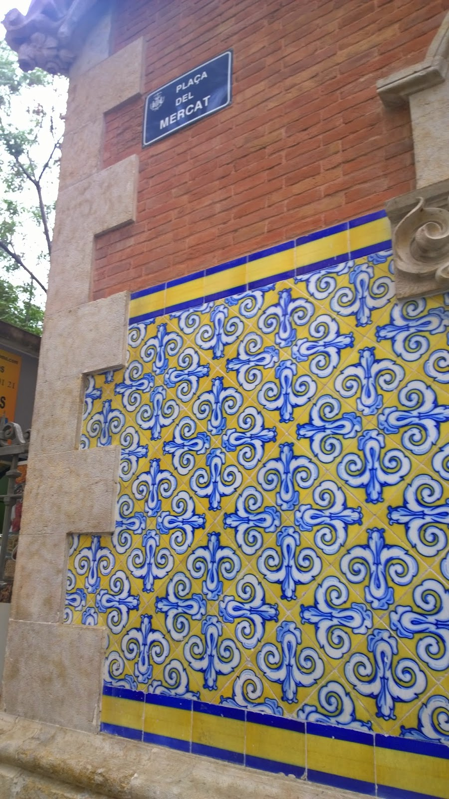 Pretty tiles everywhere