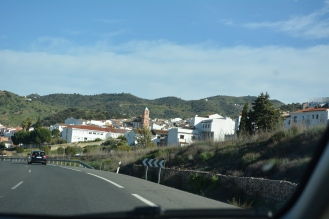 White washed towns in the Andalusia region