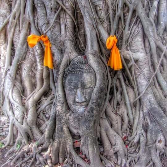Quiet spot in Ayutthaya, Thailand
