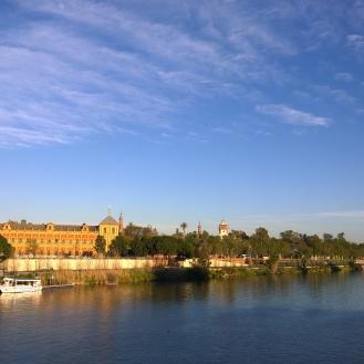 Sevilla's waterfront
