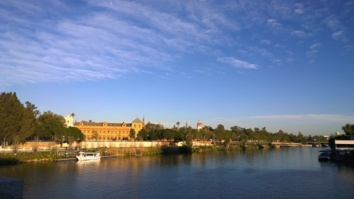 Sevilla's waterfront