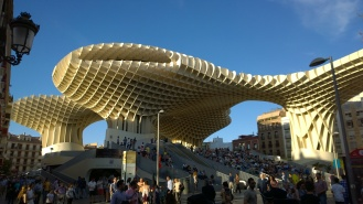 Largest wooden structure in the world - Sevilla