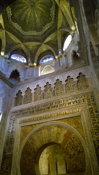 Inside the Mezquita Cathedral