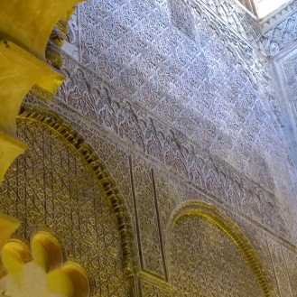 Intricate details in the Mezquita