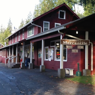 The cute grocery / supply sotre in Quinault